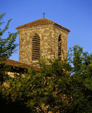 Lagarde, Frankrike: The Church