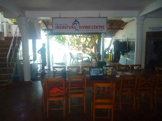 Unawatuna, Sri Lanka: Centre's Main Meeting Area