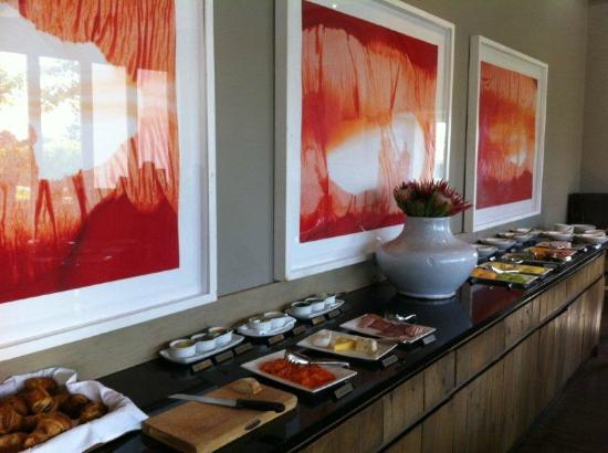 Steenberg Hotel: Breakfast