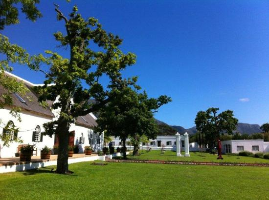 Steenberg Hotel: Main reception building