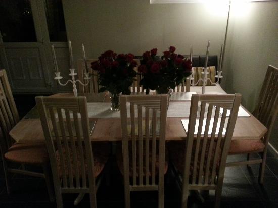 West Byfleet, UK: red rose