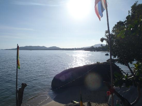 Samui Rock Bar : View from the top deck
