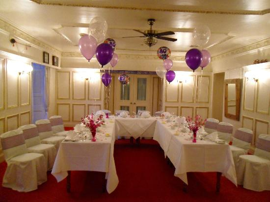 Dunnikier House Hotel: Mum's 80th Party Dining