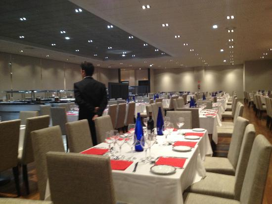 Madrid Marriott Auditorium Hotel & Conference Center: Restaurante