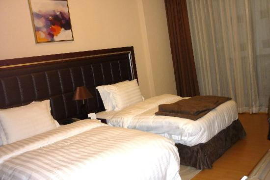 Xclusive Maples Hotel Apartments : Schlafzimmer