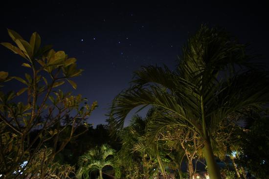 Cendana Resort and Spa: From the balcony at night