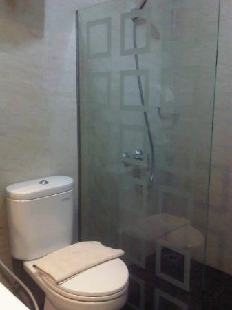 Green Forest Resort: shower