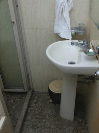 Hotel Suncity Apollo, Mumbai: Dirty bathroom