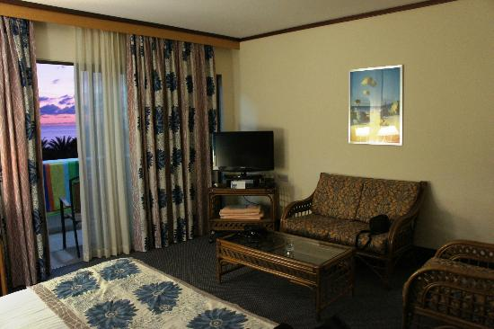 Constantinou Bros Athena Royal Beach Hotel: Our room was spacious and comfortable