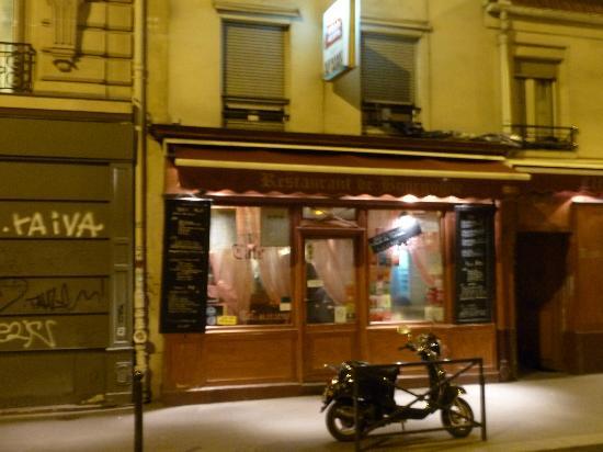 Restaurant de Bourgogne: da fuori