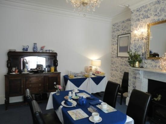 Rosslyn House: Sala da pranzo
