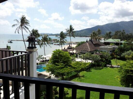 Samaya Bura: Balcony view