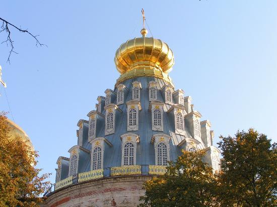 New Jerusalem Monastery of Resurrection : Новоиерусалимский монастырь. Купол собора