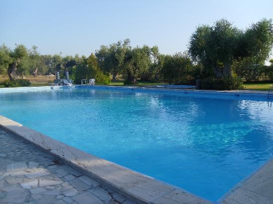 Scalilla - L'Agriturismo : la splendida piscina