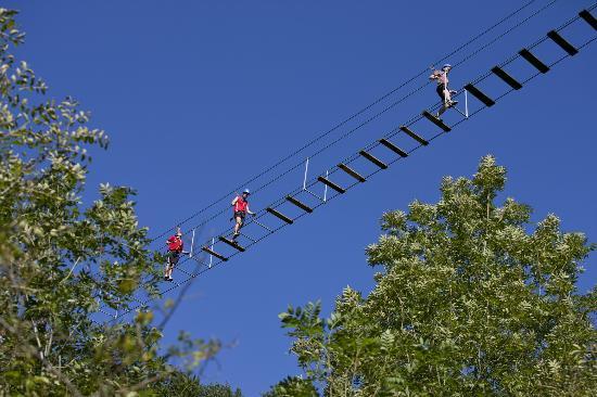 Dinant Aventure : Ponts de singes, pour braver le vertige