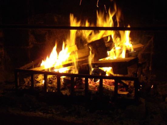 't Opkikkertje: open fireplace
