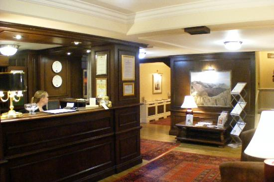 Crown Wetheral Hotel: Reception
