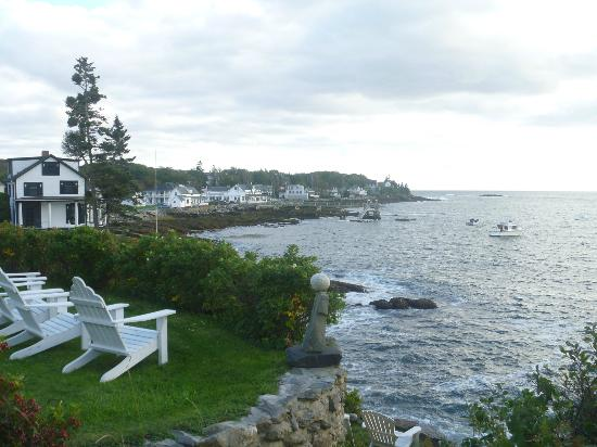 The Neptune Inn: View from the Marginal Way