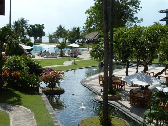Discovery Kartika Plaza Hotel: view from our room