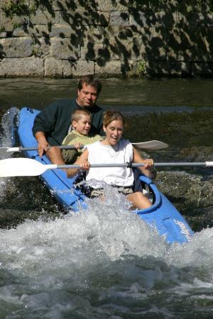 Dinant Evasion - Lesse Kayaks : Descente en famille