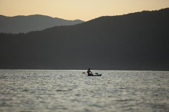 Pousada Picinguaba: Kayak in the Picinguaba Bay