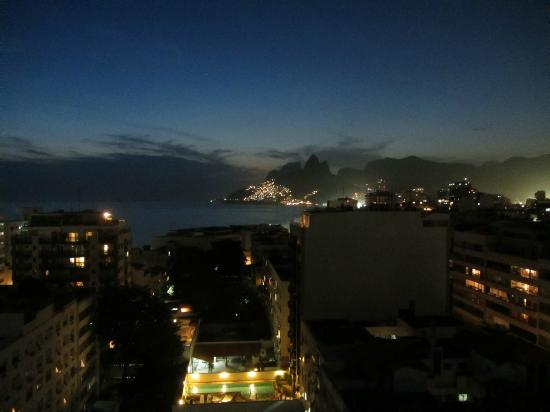 Atlantis Copacabana: Vista desde la terraza
