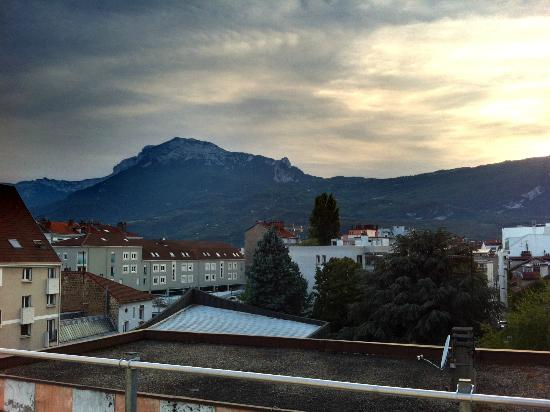 Hipark Grenoble : View from main room on 4th floor