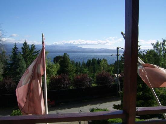 Hosteria  Las Vertientes: Vista desde la ventana