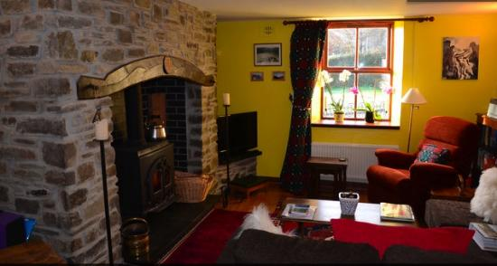 Ffaldybrenin, UK: Welsh Sitting Room