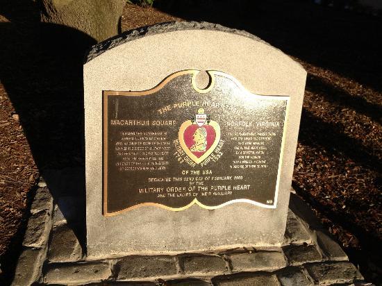 MacArthur Memorial: Purple Heart