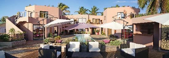 Hotel Sarimanok : Panoramique de la terrasse