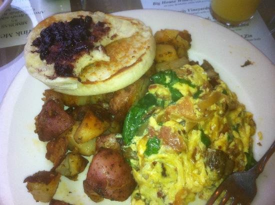 Jake's Restaurant: downtown omelette