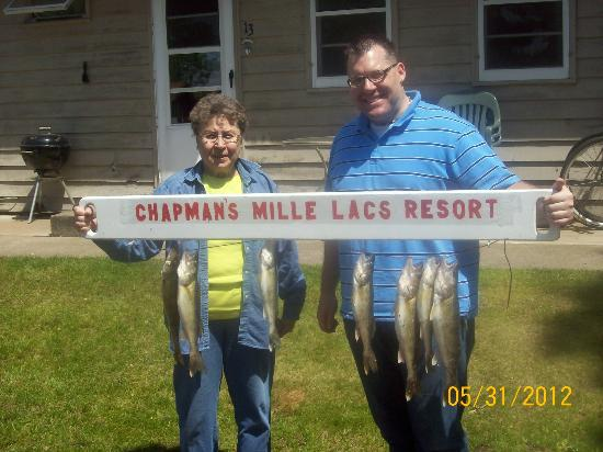 Chapman's Mille Lacs Resort & Guide Service: Walleye Guide Service on Mille Lacs Lake