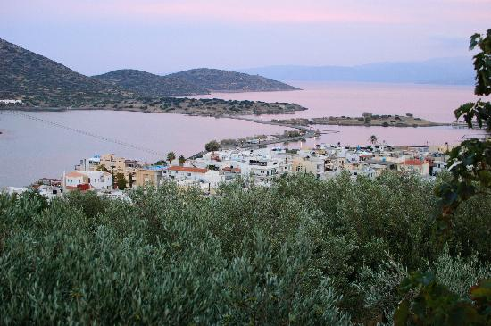 Elounda Heights Apartments and Studios: View from pool