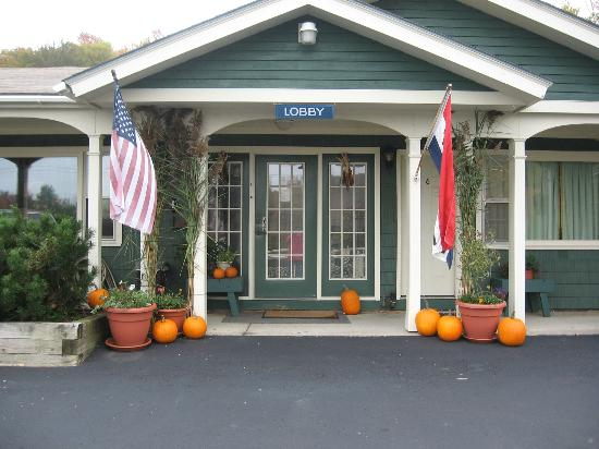 Killington Motel: Lobby entrance