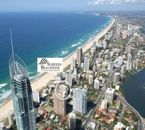 Surfers Beachside Holiday Apartments: Surfers Beachside in the Heart of Surfers Paradise