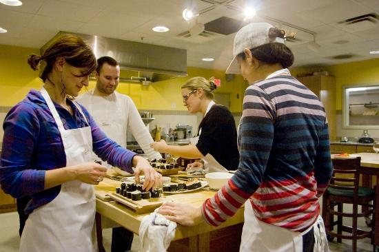The Essex, Vermont's Culinary Resort & Spa: Cooking Class in Cook Academy