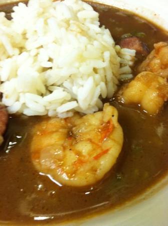 Angelette's Cajun Kitchen : shrimp gumbo