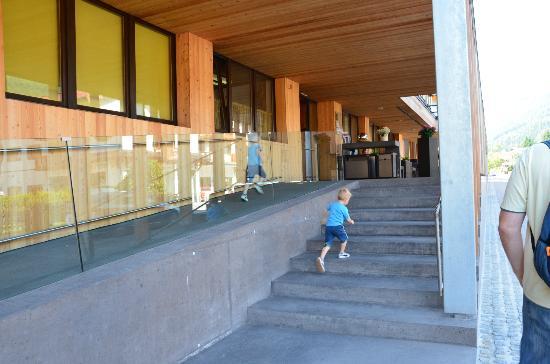 Funsport-, Bike- & Skihotelanlage Tauernhof : The entrance