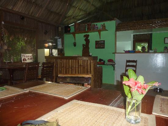 Jungle Jeanie's by the Sea: Inside Eating Area