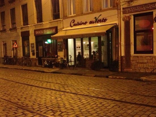 Cuisine ouverte gand restaurant avis num ro de for Cuisine ouverte restaurant