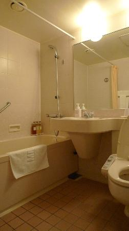 Meitetsu Grand Hotel: standard Japanese style bathroom