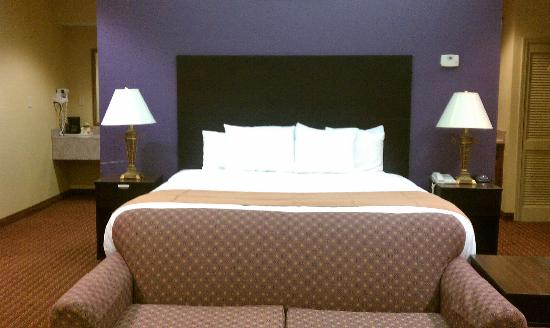 Vista Inn & Suites - Warner Robins: Jacuzzi Suite Bed Room