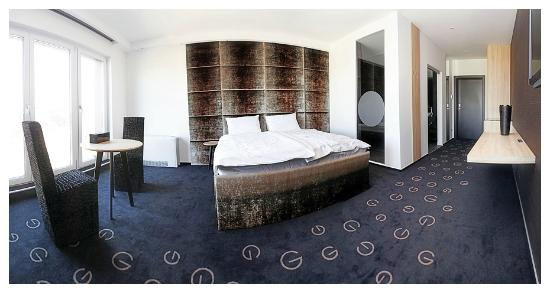 G Design Hotel: A double room that will make you wish this was your home.
