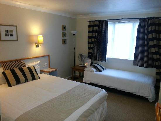 Garden Court Sandy: Double room with sofabed