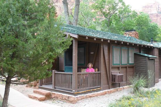 Zion Lodge Cabin