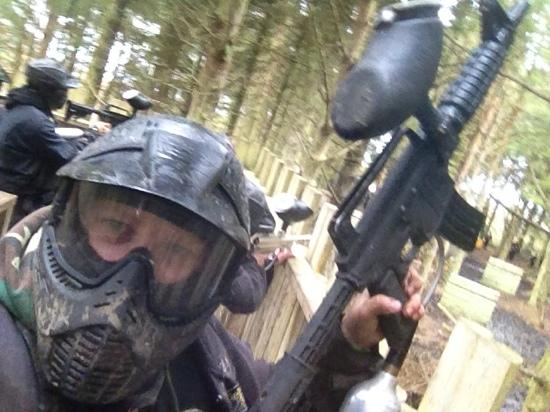 Delta Force Paintball Edinburgh: who you looking at?