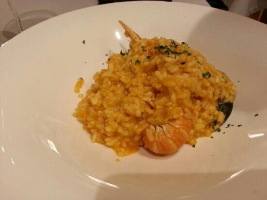 Restaurante Anttonenea: Arroz con marisco