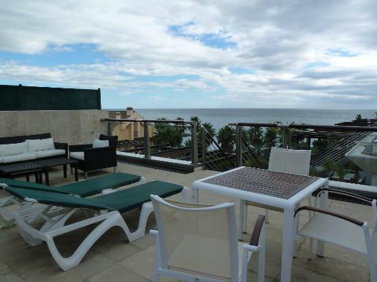 Gran Hotel Guadalpin Banus: Upper roof terrace