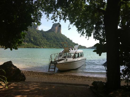 โรงแรมรายาวดี: Rayavadee Boat